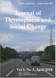 journal of development and social change