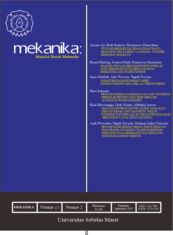 MEKANIKA Vol 17 No 2 September 2018
