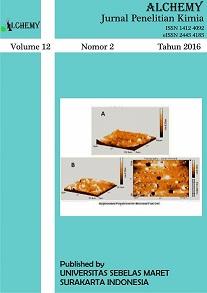 Alchemy Jurnal Penelitian Kimia, Vol. 12, No. 2 Tahun 2016