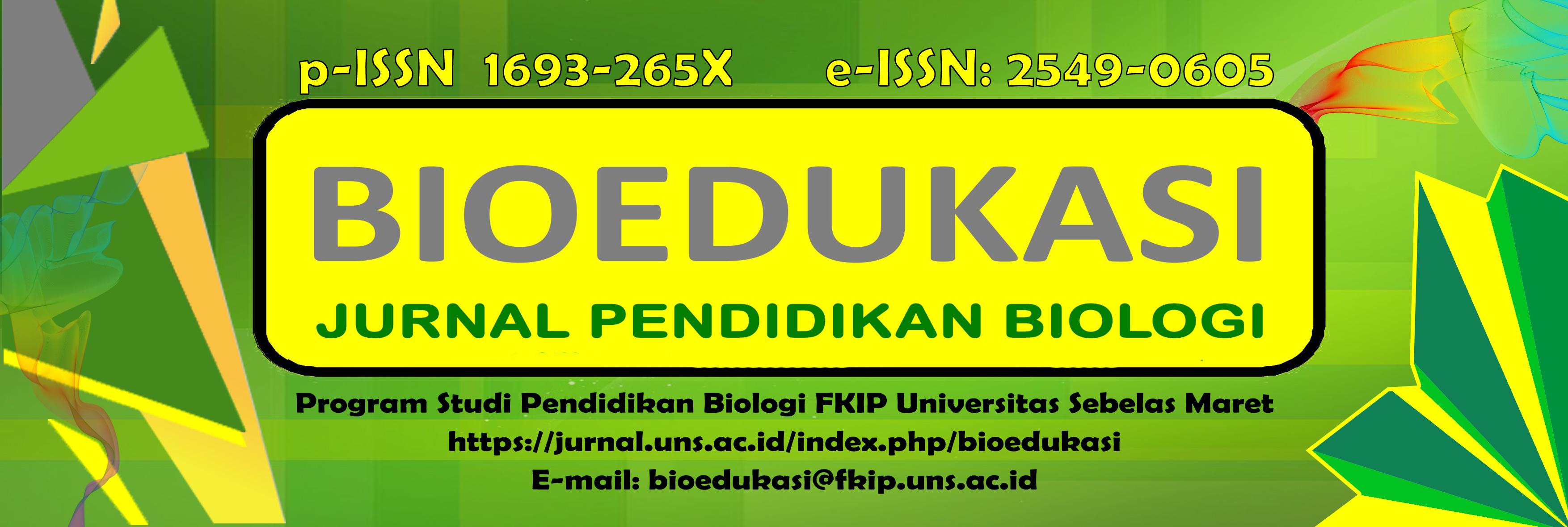 BIOEDUKASI: Jurnal Pendidikan Biologi
