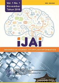 Indonesian Journal of Applied Informatics