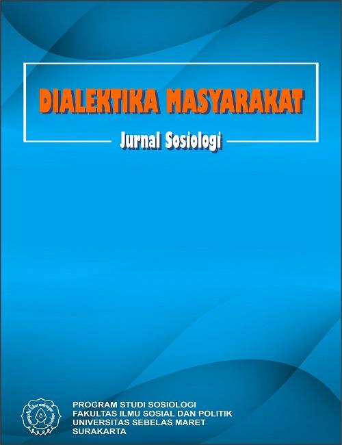 Cover Dialektika Masyarakat: Dialektika Masyarakat