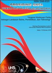 Prosiding SNFA (Seminar Nasional Fisika dan Aplikasinya)